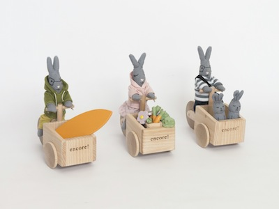 PACK TRIPORTEUR LAPIN