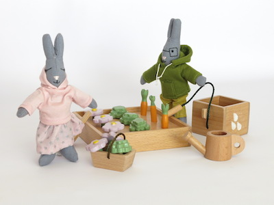 PACK POTAGER LAPIN
