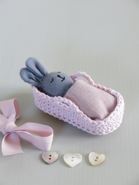 PETIT LAPIN & SON COUFFIN Rose