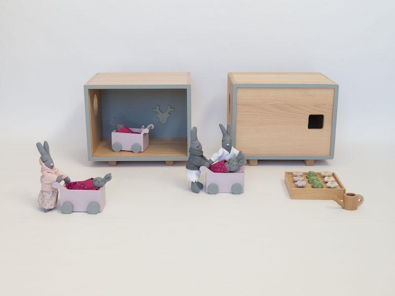 Berceau Bois Jouet : jouet bois ecologique berceau poupee